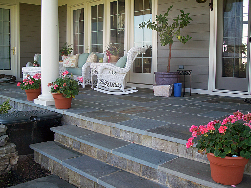 Front Porch-natural stone - quinju.com
