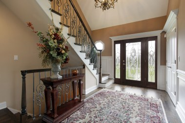 decorative-glass-front-door-Natural light-quinju.com