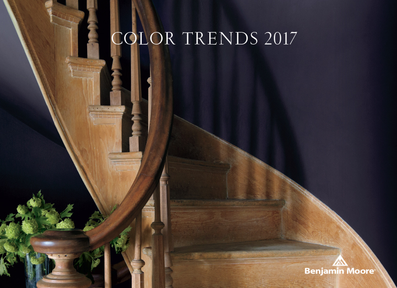 Paint color trends in 2017-Benjamin Moore Shadow-quinju.com