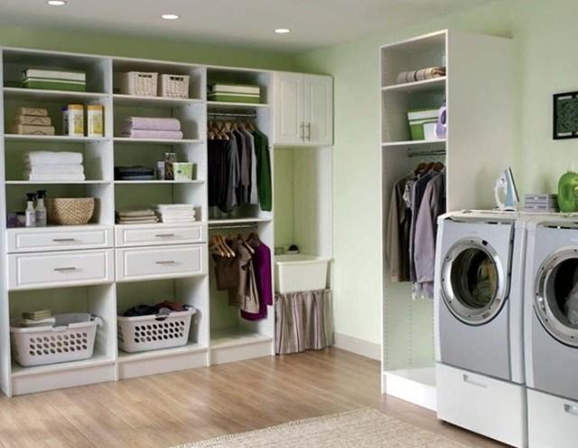 laundry room-design ideas-open shelf storage-quinju.com