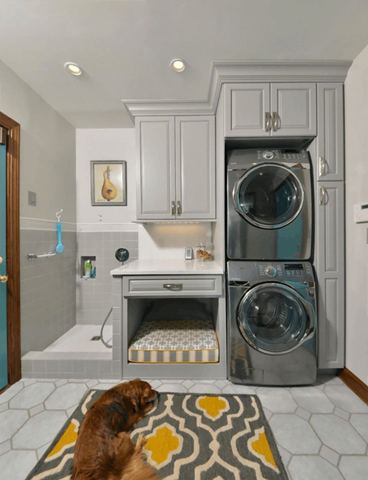 Laundry Room Reno - dog wash - quinju.com