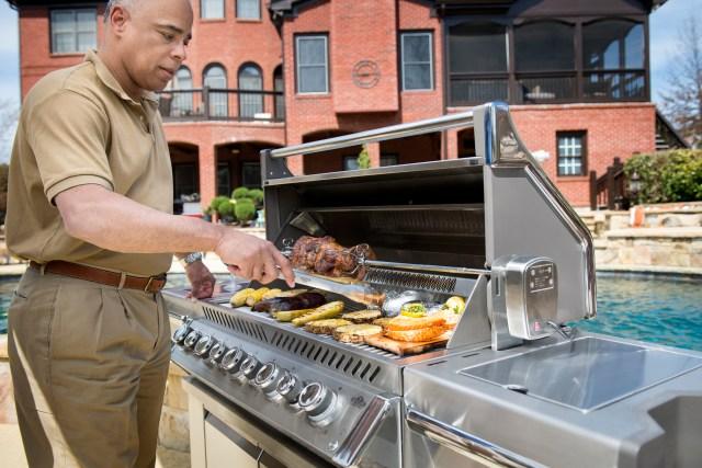 Grilling Area - gas grills - quinju.com