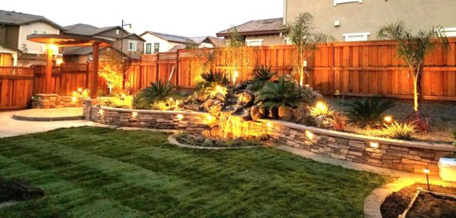 backyard lighting design, backyard design elements, lighting, quinju.com