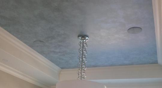 Choosiing Ceiling Paint Color-metallic ceiling paint-quinju.com