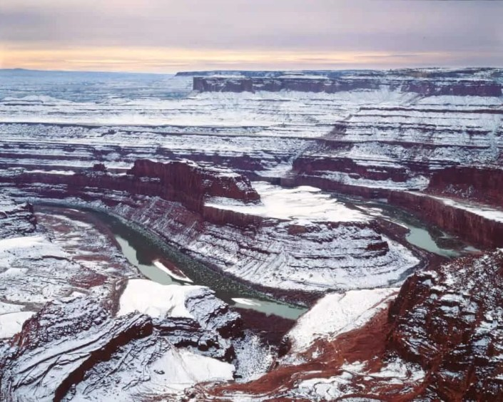Winter at Dead Horse Point