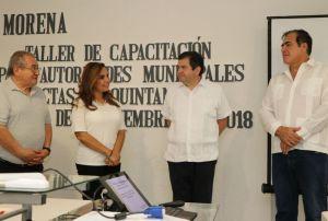 @MaraLezama inaugura taller de capacitación para autoridades municipales electas