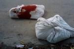 Hallan tres cuerpos ensabanados y descuartizados en la SM 65 y 75