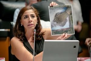 @Marybel y los ciudadanos siguen en lucha contra #Aguakan