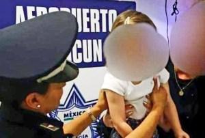 Rescatan a menor de nacionalidad española secuestrada