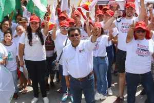 Velará Hernán Villatoro por el bienestar social