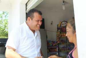 Un desarrollo integral pedirá Edgar Gasca candidato del D1