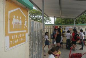 45 escuelas serán refugios anticiclónicos
