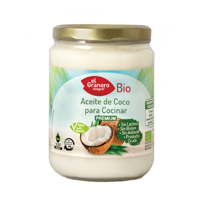 aceite de coco ecológico