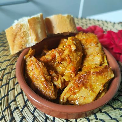 Estofado de pollo heura original