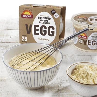 sustituto vegano del huevo