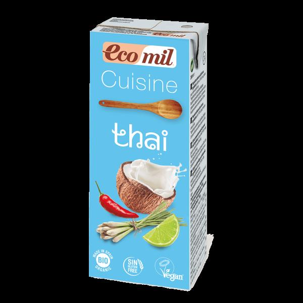 Nata vegetal de coco Ecomil. 200 ml