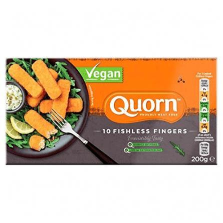Palitos de pescado vegano rebozados