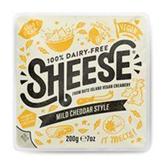 Sheese mild cheddar bloque
