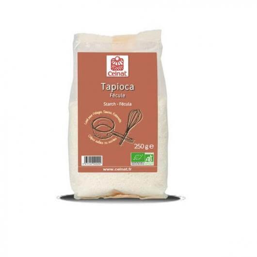 Tapioca de yuca sin gluten Celnat 250 gramos. Sin gluten.