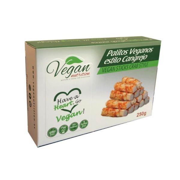 palitos de cangrejo vegetales