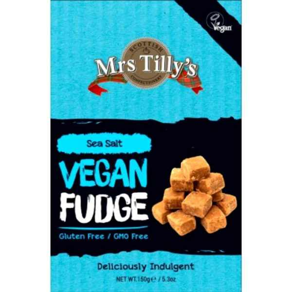 caramelo vegano inglés vegan fudge sea salt
