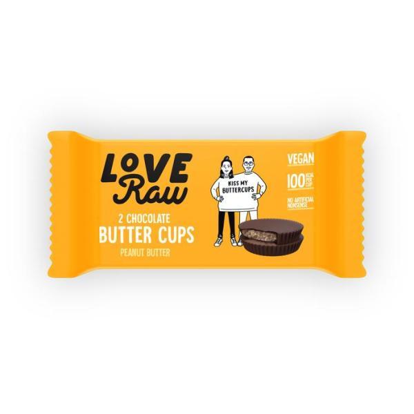 Butter cup de love raw, veganas.