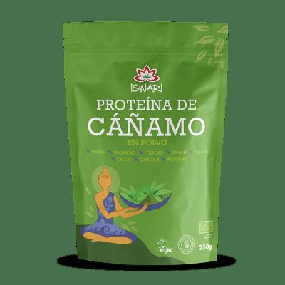 proteína vegana de cáñamo