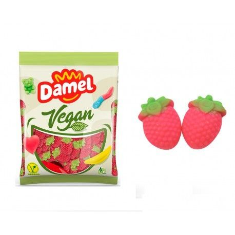 gominolas veganas de fresa