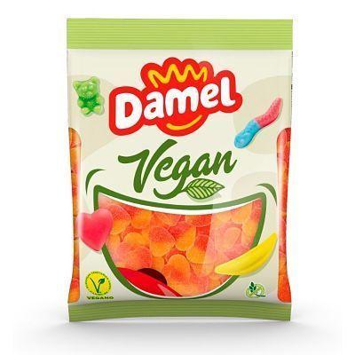 chuches veganas corazón melocotón