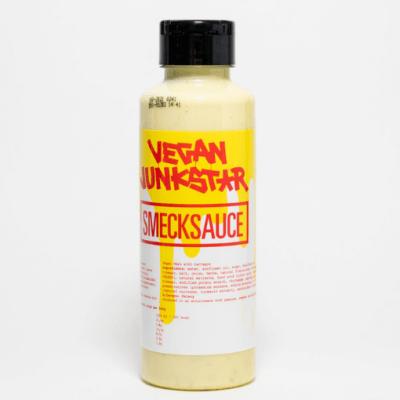 salsa smeck vegana vegan junkstar