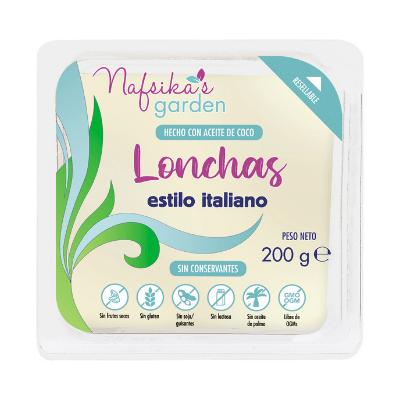 queso italiano en lonchas de Nafsika´s Garden