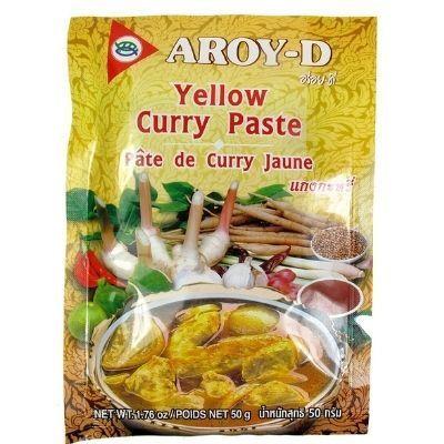 Pasta para hacer curry amarillo Aroy-D
