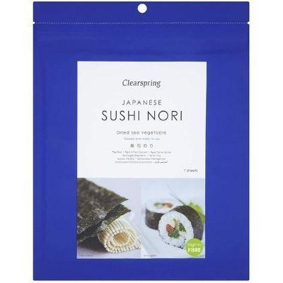 alga nori especial para sushi Clearspring