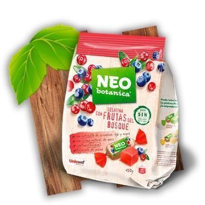 caramelos con stevia sin azúcar Neo Botánica