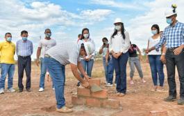 Gobierno del Cesar puso la primera piedra para proyecto de vivienda en San Diego
