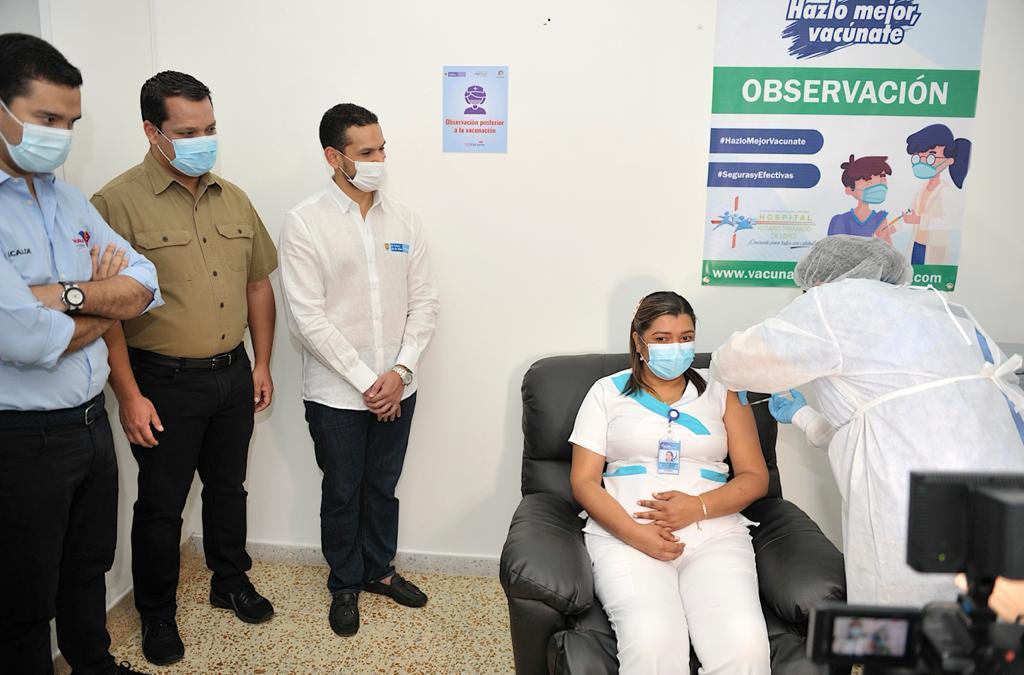 Estos son los primeros vacunados contra el covid19 en Valledupar