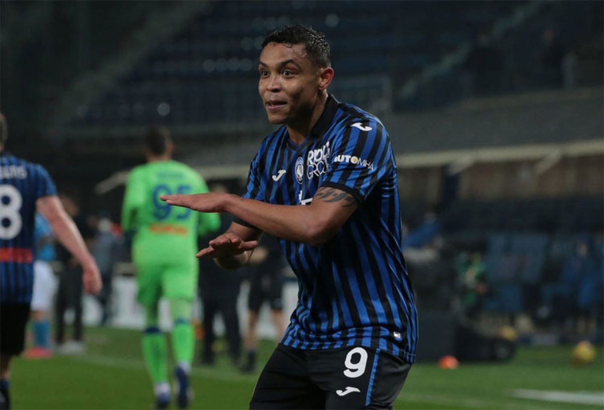 Muriel llegó a 15 goles y es tercero en la tabla de 'artilleros' de la Serie A