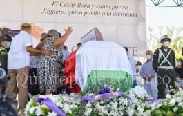 Reviva el adiós a Jorge Oñate desde La Paz, Cesar