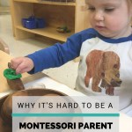 Why It's Hard to Be a Montessori Parent
