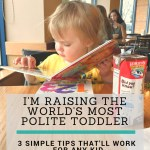 How I'm Raising the Most Polite Toddler Ever