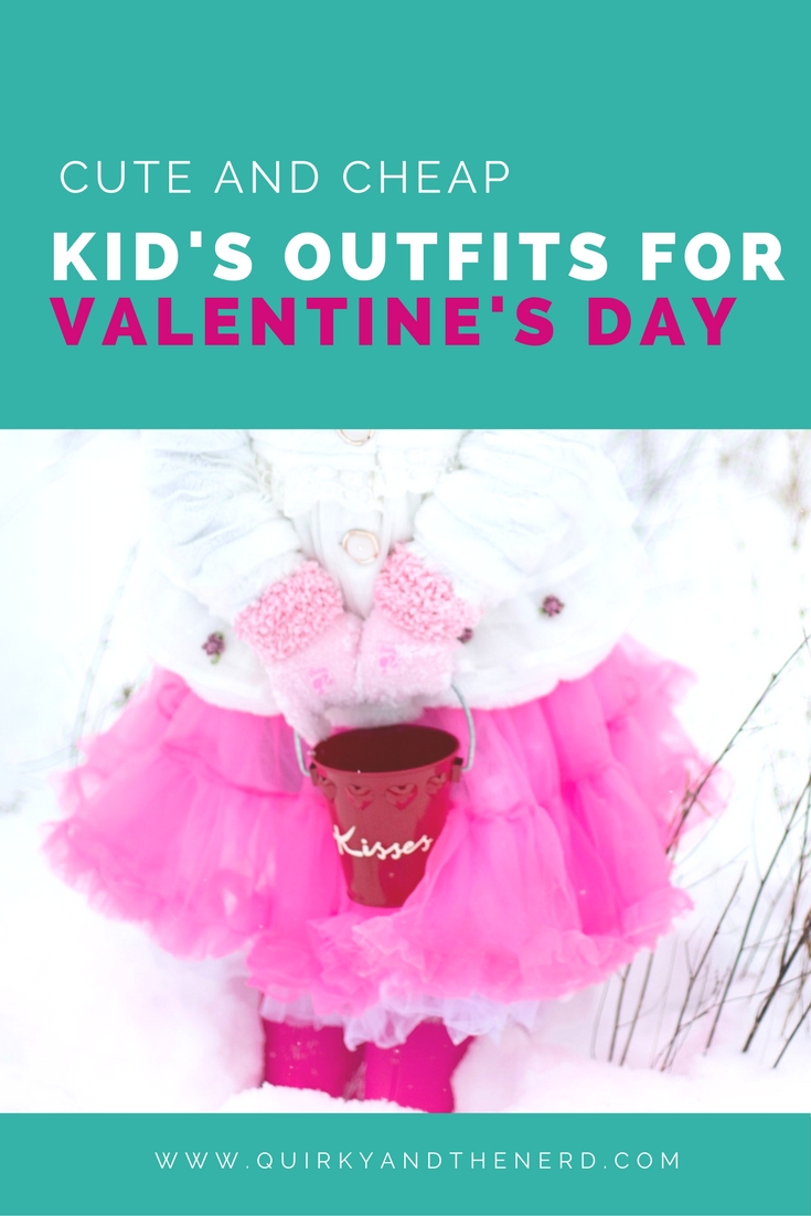 It is so fun to pick out a Valentine's Day outfit for kids. From over the top pink to a more neutral road, this post provides great options for every kid! quirkyandthenerd.com