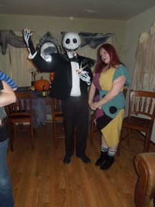 Jack Skellington and Sally DIY Costumes