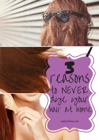 After several attempts at dying my own hair, I finally only let a stylist handle my mane. Theses are the 3 reasons not to dye your hair at home as learned from my own experiences.