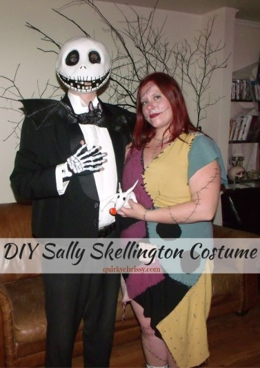 When I couldn't find a costume I liked, I made my own DIY Sally Skellington Costume and my boyfriend made part of his Jack Skellington Costume