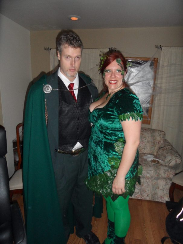 Poison Ivy and Ras Al Ghul