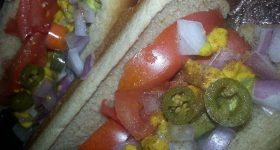 Tasty Tuesday: 5 Weight Watchers Points Plus Chicago Style Hot Dog