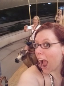 drunk ride on the carousel