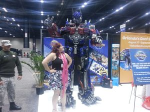 Seriously. Fucking Optimus Prime.