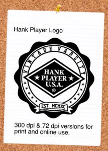 Hank Player Logo