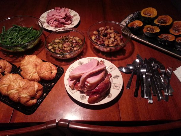 Pre-Thanksgiving Thanksgiving